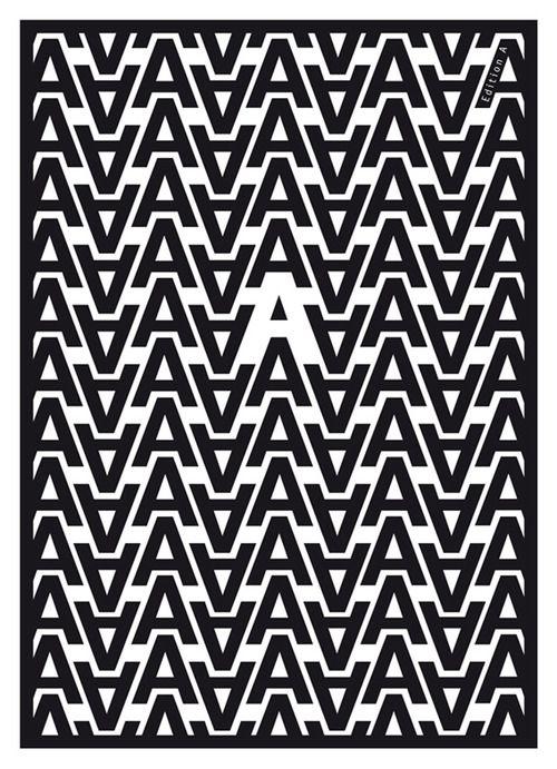 Für Annetet Inspiration gallery No. 655, Typography inspiration   From up North...pattern ideas