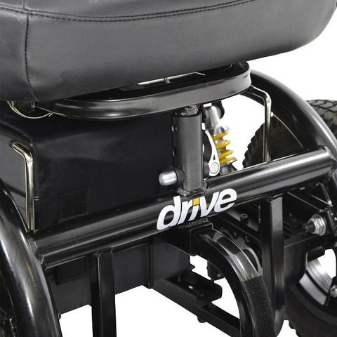 Drive Medical Trident Front Wheel Drive Power Chair Power Chair Electric Wheelchair Driving