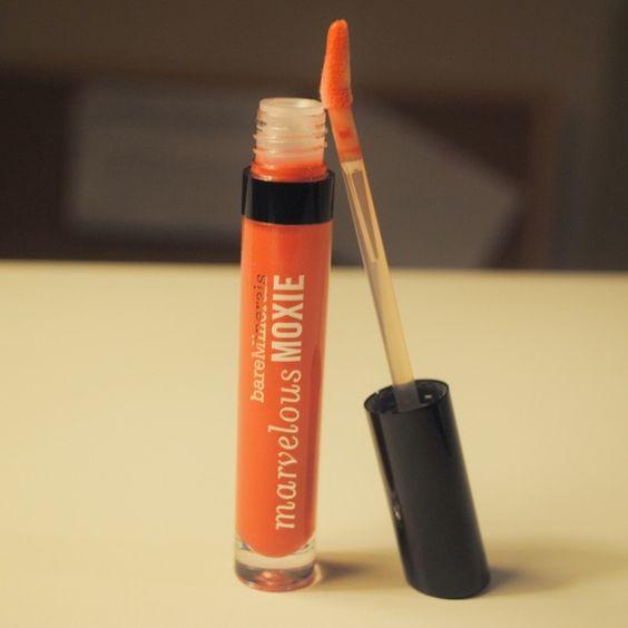 Moxie Lipgloss BareMinerals Marvelous Moxie Lipgloss #Party Starter 0.15 Fl. Oz. Brand New bareMinerals Makeup Lip Balm & Gloss