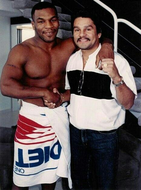 Mike Tyson and Roberto Duran..