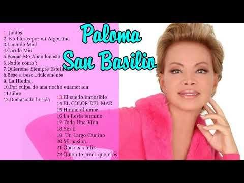 Paloma San Basilio Grandes Exitos Paloma San Basilio Grandes éxitos Youtube Paloma Bailado Youtube