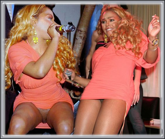 Lil kim nude pictures in pink dress