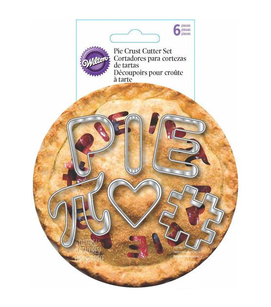 Wilton® Mini Pie Cutter Set 6/Pkg-I Heart Pie
