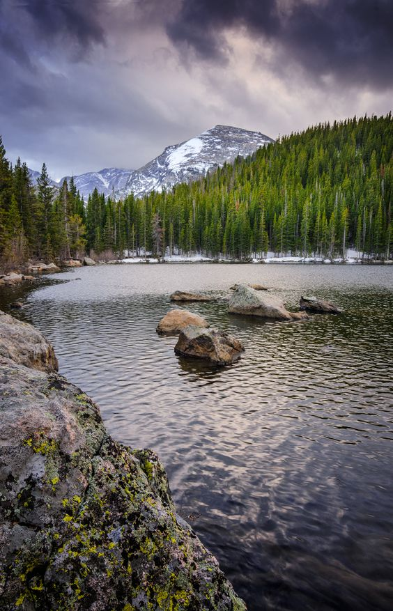 Bear Lake in Estes Park, Colorado | Everything Colorado | Estes Park | The Mile High City | Denver | Hiking | Fall | towns | explore | mountains | Colorado | Colorado Camera Club | 303 | 5280 | Schomp Honda