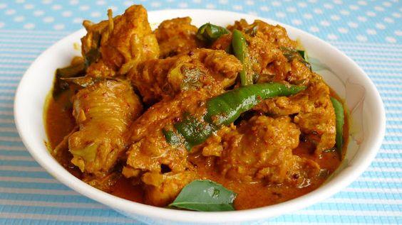 Veronica's Kitchen: Sri Lanka Style Curry Chicken