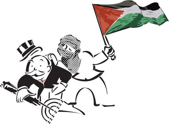 Palestina - propuesta para guerrilla comunicacional - serie Mk pato