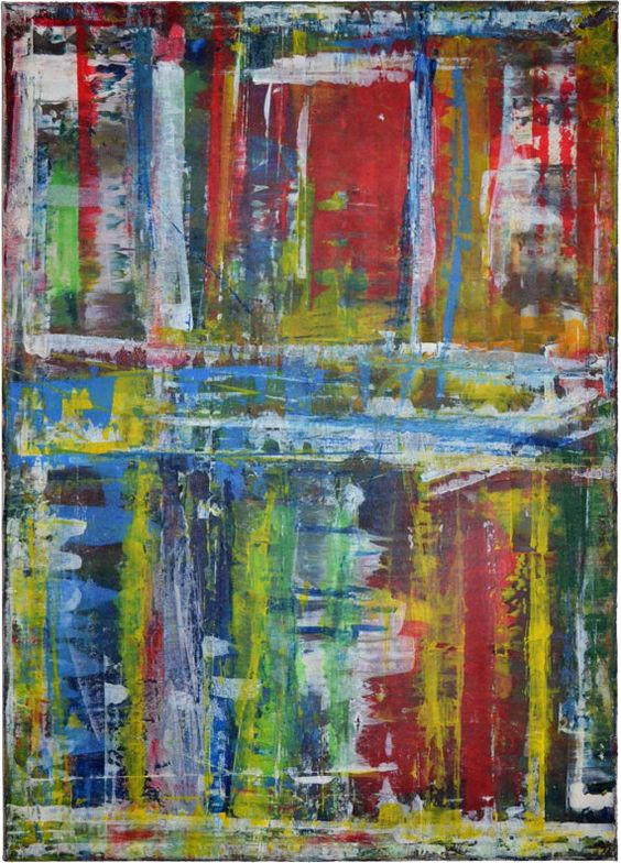 Original Expressionist Painting Becker Beste No 120