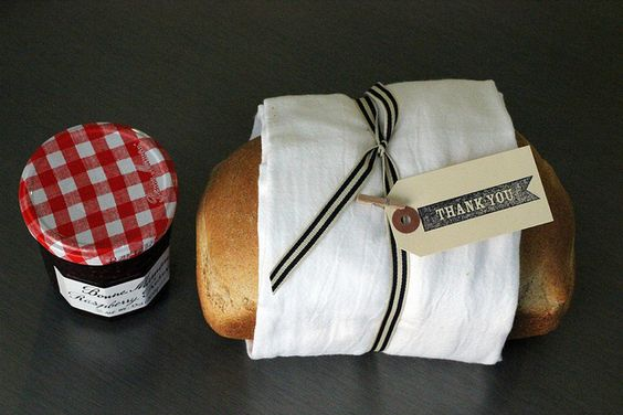 bread & homemade jam for a simple housewarming @vivint #letsneighbor Colleen L