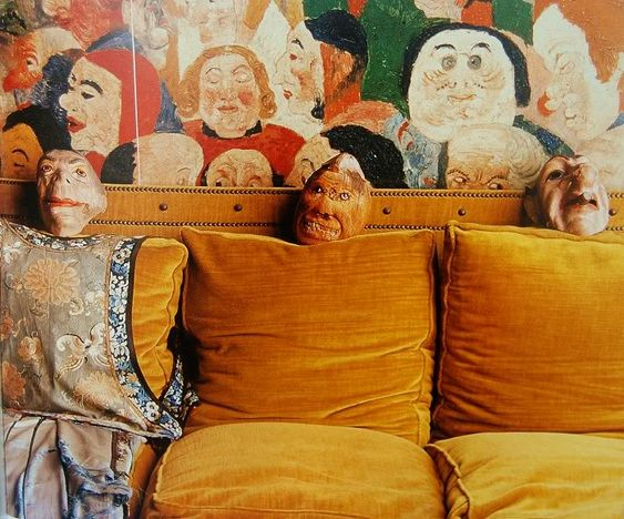 Curious Places: The house of James Ensor (Ostend/ Belgium)