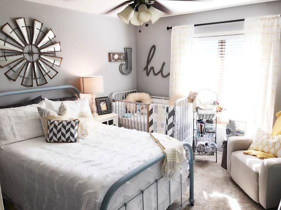 Nursery Guest Room Combo Styled By Jennifer Boyd Designs Perfect For A Small E And Great Way To Not Lose Your Spare When Having New Baby