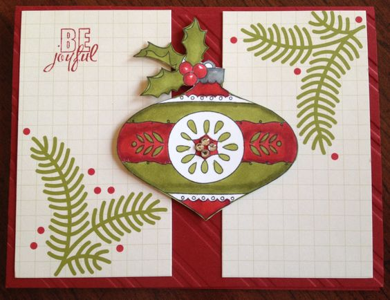 Christmas Bauble and Project Life by Stampin' Up!