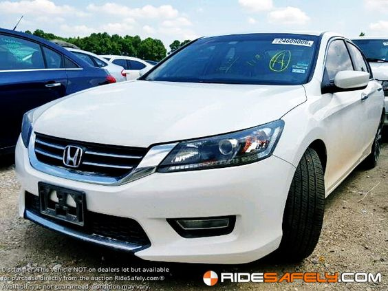 Research Used Honda Accord at RideSafely.com. Save Up to Thousands. Shop & Save today! http://www.ridesafely.com/en/salvage-auto-auction-search/honda/accord