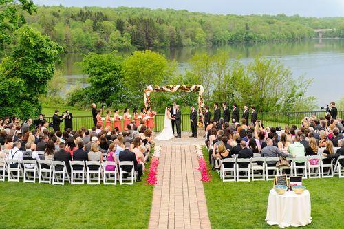 Summer Wedding On The Lake The Lake House Inn Bucks County PA