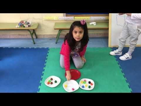 Los Dos Objetivos Del Reparto Irregular En 3 Partes Youtube Actividades De Aprendizaje Preescolares Metodo Abn Infantil Matematicas Infantil