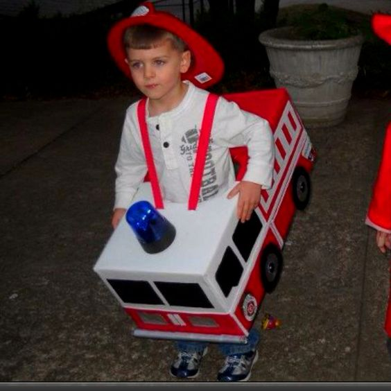 What to do when babysitting a little brother who luvvvs firetrucks
