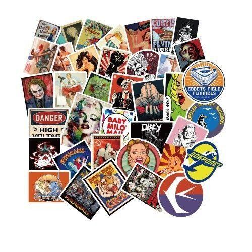 100 pcs Sticker Pack aesthetic computer stickers tumblr stickers cute travel sticker punk skateboard stickers cool vinyl sticker lot