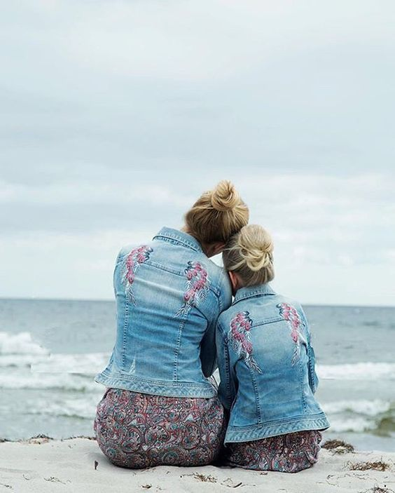 Two generations of Molly! (Photo by @skeppsbron10) #oddmolly #madeinlove #dreamtripjacket