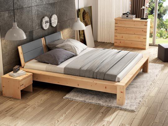 Zirben-Unterbettkommode  - zirbenholz schlafzimmer modern