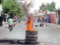 Barrios De Barahona Protestan Porque Tienen Tres Semanas Sin Agua
