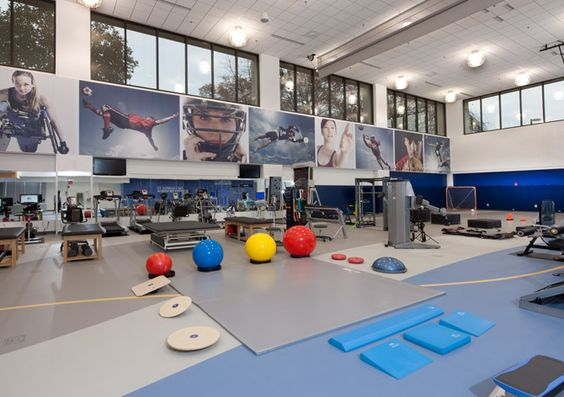 Nemours center for sports medicine fkp architects wilmington delaware pediatric for Interior design school wilmington nc