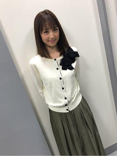『金スマ』出演時の衣装の小倉優子