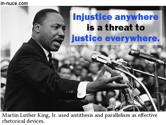 Quotes From Mlk Letter From Birmingham Jail: Rhetorical Devices: Letter From A Birmingham Jail