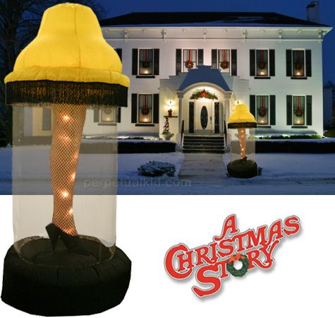 A Christmas Story Inflatable Leg Lamp Yard Decoration Haha Love It Where Do I Buy This Lol A Christmas Story Christmas Yard Decorations Leg Lamp