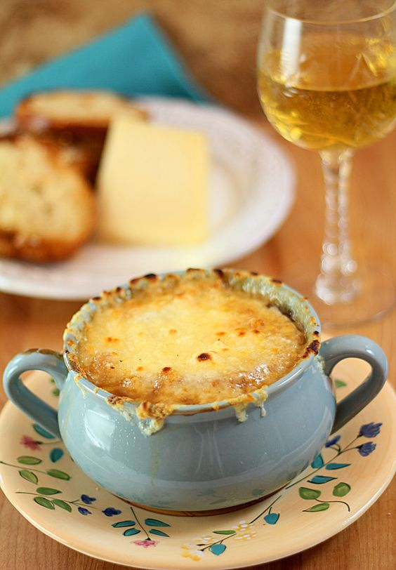French Onion Soup from Famous & Barr in St. Louis, Missouri: