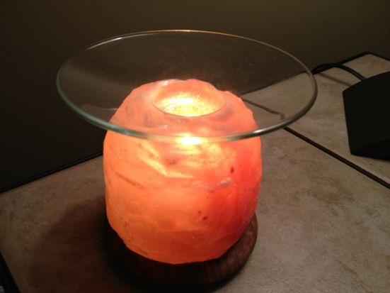 Salt Lamp Essential Oil Diffuser : Diffusers, Essential oil diffuser and Oil diffuser on Pinterest