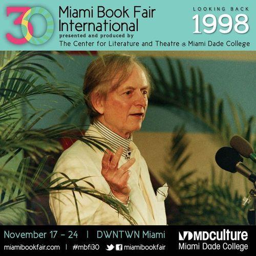 Tom Wolfe #Miami #bookfair