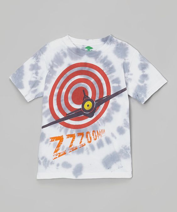 Look at this Blue & White Airplane Target Organic Tee - Infant, Toddler & Boys on #zulily today!