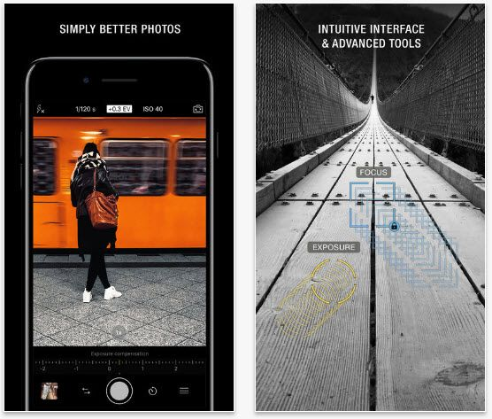 10 Best Camera Apps For Iphone X 8 8 Plus 7 7 Plus Free Paid Camera Apps Best Camera Iphone Photography Apps