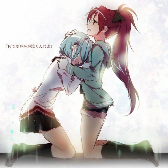sayaka & kyoko