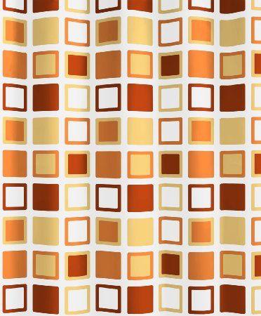 Kleine Wolke Clipper 5209568305 Shower Curtain 180 x 200 cm Sunshine