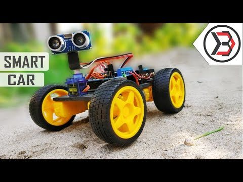 How To Make A DIY Arduino Obstacle Avoiding Car At Home - YouTube ...