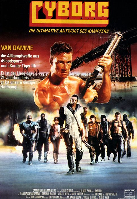 Pin By Marianne Ferguson On Action Cyborg Movie Cannon Film Movie Posters