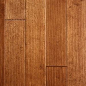 """Show details for Nuvelle Boardwalk Birch Antique Bronze- 5"""", Dark brown floor, red floor, handscraped floor, engineered floor, birch hardwood, antiqued floor, vintage floor, floor idea, floor trend, wide plank floor"""