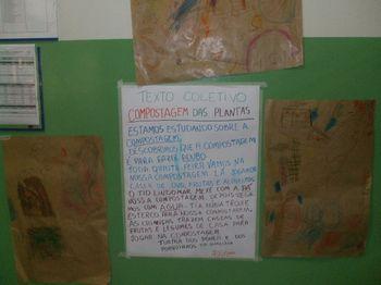 Portal do Professor - Produzindo adubo orgânico na escola e aprendendo a fazer pesquisa desde a Educação Infantil