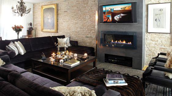Home Foyer De La Côte Corcelles : La maison du designer harold ménard foyers belle and photos