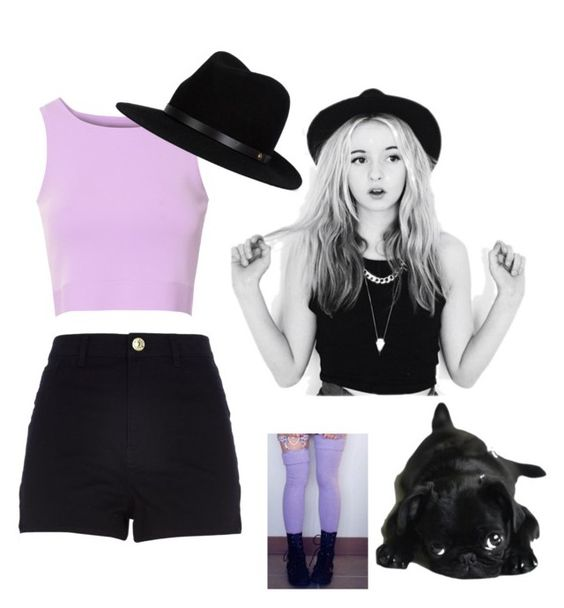"""A Day Out"" by lilangelrere ❤ liked on Polyvore featuring Glamorous, River Island and rag & bone"