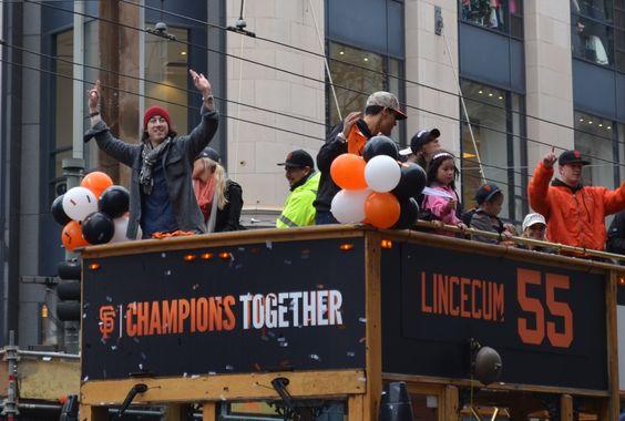 San Francisco 2014 World Series Champions Parade 10-31-14