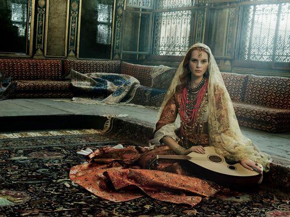 Musician - Has Hali campaign @@@@......http://www.pinterest.com/lysander666/harem-hamam-in-orientalism/