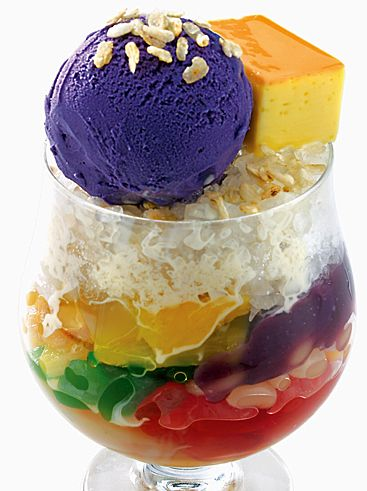 You could really go for an ice-cold halo halo right now.   34 Signs You Grew Up Filipino