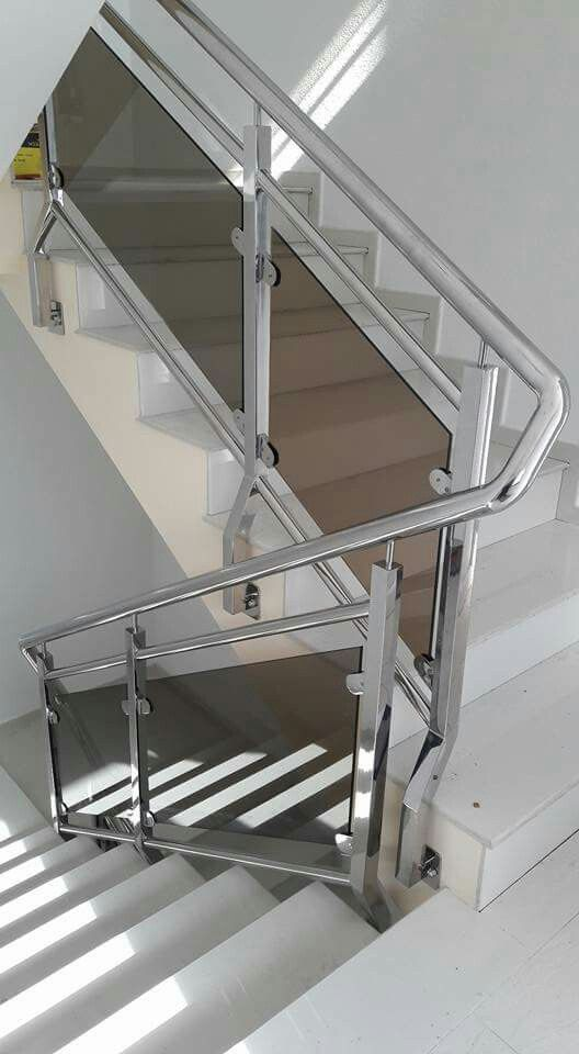 Steel Stairs Design Ideas Pictures Remodel And Decor Page 2 Industrial Staircase Design Steel Stairs Design House Staircase