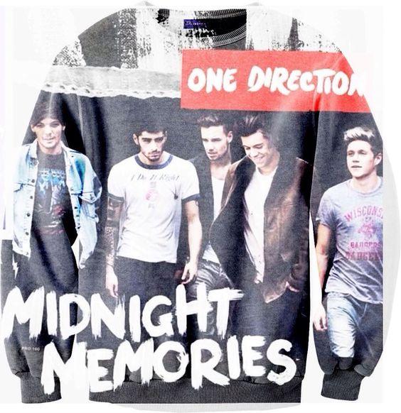 One Direction Midnight Memories sweatshirt