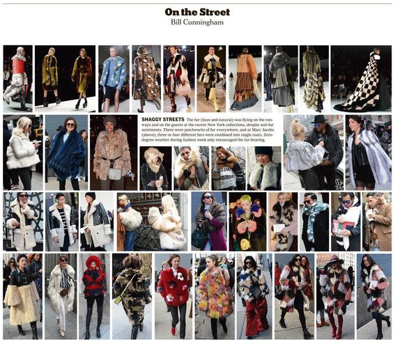 On the street - Bill Cunningham