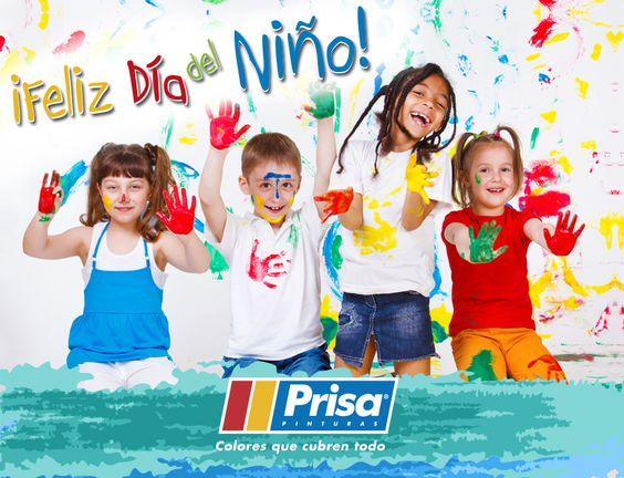 """#DíaDelNiño """"No dejemos de imaginar, crear, soñar y rodearnos de #Color"""". ¡Feliz Día del Niño! http://www.prisa.com.mx/ #ColoresQueCubrenTodo"""