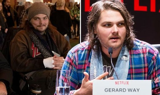 Gerard Way, creator of Umbrella Academy comics