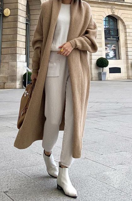 Neutral Outfits For Fall Winter Herfst Garderobe