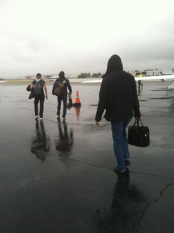 Foo heading out on their 2011-2012 tour @tourmanagergus